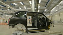 London taxi company hails £300m plant