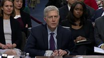 Gorsuch: 'I'd have walked out the door'
