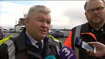 Irish coastguard helicopter R116 wreckage is found off Mayo coast