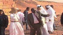 زيارة الشيخة موزا إلى أهرام السودان تفجّر أزمة إعلامية بين مصر والخرطوم