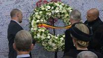 В Брюсселе вспоминает жертв прошлогодних взрывов