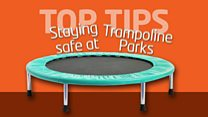 Tips for staying safe at trampoline parks