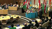 سفره هفت سین در سازمان ملل متحد