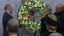 یادبود 32 کشته بمب گذاری در فرودگاه و مترو بروکسل