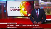 Matangazo ya Dira ya Dunia TV