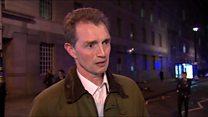 'We heard shouting and a gun shot'