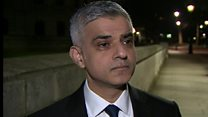 Khan: 'We won't be cowed by terrorists'