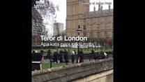 Saksi teror London: 'Pelaku ditembak dua hingga tiga kali'