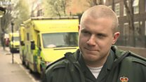 Watch: Paramedic Manager on arriving on the scene of yesterday's attack