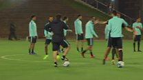 تیم ملی فوتبال ایران ور در روی قطر
