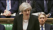 May tells Commons: We are not afraid