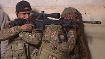 معركة الموصل وسلاح القناصة