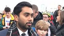 Нападение в Вестминстере: съемки и свидетельства очевидцев
