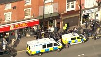 Hunt in Birmingham as police name killer