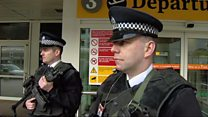 Armed police patrols increased