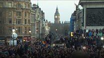 Thousands attend London vigil
