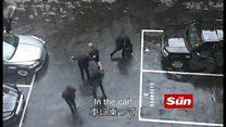 【ロンドン襲撃】 メイ首相、議事堂避難の瞬間
