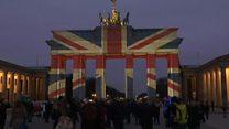 Британський прапор висвітився у центрі Берліна
