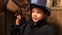 Critically ill boy becomes jockey