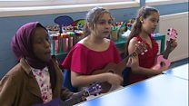 Pupils learn ukulele as music fund launched