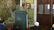Imam preaches against terrorism