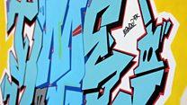 The evolution of a graffiti artist