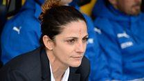 Patrizia Panico, la primera mujer en dirigir una selección masculina de fútbol en Italia