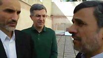 محمود احمدی نژاد شانهبهشانهی حمید بقایی در جمع هواداران حاضر میشود