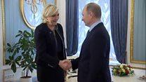 ТВ-новости: из Парижа с любовью – о чем говорили Ле Пен и Путин