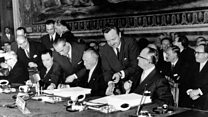 Sixty years since Treaty of Rome signed