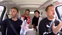 Red Nose Carpool Karaoke with Take That