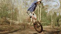 Edd Hawkes Unicycle