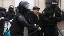 Beatings as Belarus protesters arrested