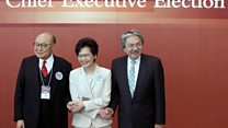 香港特首选举2017:投票日票站直击