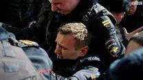 مظاهرات روسيا : واشنطن تطالب موسكو بإطلاق سراح المعتقلين فورا