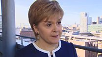 Sturgeon 'frustrated' over Brexit process