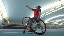 Wheelchair tennis in 60 seconds