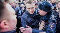 محکومیت رهبر معترضان در روسیه و بازداشت صدها هوادارش