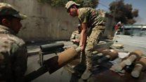 イラク・モスル奪還への戦い 住民たちは「人間の盾」に