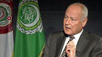 """أبو الغيط  """"إيران تتدعي مسؤولية الدفاع عن شيعة العرب"""""""