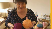 Why I've knitted hundreds of woollen breasts