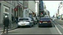 Police chase arresting nine Albanians in Brighton