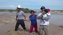 Deadly floods swamp northern Peru