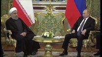 امضای ۱۴ سند همکاری بین تهران و مسکو در سفر روحانی