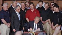 Trump order scraps Obama climate policies