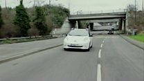 تجربة نادرة لسيارة ذاتية القيادة في شوارع لندن