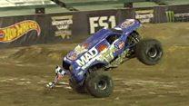 Monster truck stunt first