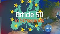 Article 50 in 50 seconds