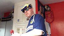 Fan supports team Wembley bid with rap