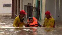 El desborde del río Piura afecta a miles de personas en el norte de Perú